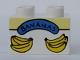 Part No: 3437pb013  Name: Duplo, Brick 2 x 2 with Bananas Box Pattern