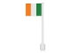 Part No: 3596pb30  Name: Flag on Flagpole, Straight with Ireland Pattern (Stickers)