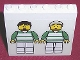 Part No: 3754pb08  Name: Brick 1 x 6 x 5 with Two Soccer Players Pattern (Sticker) - Sets 3414 / 3419