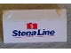 Part No: 3939pb04  Name: Slope 33 3 x 6 with Inner Walls with Stena Line Ferry Pattern (Sticker) - Set 2998