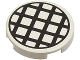 Part No: 4150p01  Name: Tile, Round 2 x 2 with Black Grid Large Pattern