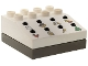 Part No: 42104cx01  Name: Duplo Sound Effects Brick with Dark Gray Base and Castle Sounds