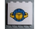 Part No: 4215pb036  Name: Panel 1 x 4 x 3 with Box and Arrows and Globe Pattern (Sticker) - Sets 4555 / 6542