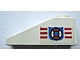 Part No: 4286pb018L  Name: Slope 33 3 x 1 with Coast Guard Pattern on Left Side (Sticker) - Set 6338