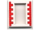 Part No: 45402px1  Name: Door, Frame 2 x 8 x 8 with Red Bricks Pattern