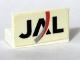 Part No: 4865pb016  Name: Panel 1 x 2 x 1 with JAL Logo Pattern (Sticker) - Set 4032-5