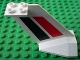Part No: 4867pb01  Name: Tail Wedge with Red and Black Stripes Pattern