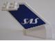 Part No: 4867pb08  Name: Tail Wedge with SAS Logo Pattern on Both Sides (Stickers) - Set 4032-2