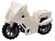 Part No: 52035c02  Name: Motorcycle City with Black Chassis (Long Fairing Mounts) and Light Bluish Gray Wheels