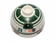 Part No: 553pb018  Name: Brick, Round 2 x 2 Dome Top with Dark Green Pattern (R2-X2)