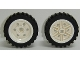 Part No: 56904c01  Name: Wheel 30mm D. x 14mm with Black Tire 43.2 x 14 Offset Tread (56904 / 56898)