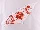 Part No: 58004  Name: Cloth Sail 25 x 8 with Red Ninjago Dragon Pattern
