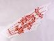 Part No: 58005  Name: Cloth Sail 29 x 9.5 with Red Ninjago Dragon Pattern