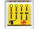 Part No: 59349pb030  Name: Panel 1 x 6 x 5 with Tools Pattern #2 on Inside (Sticker) - Set 8161