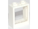 Part No: 60592c01  Name: Window 1 x 2 x 2 Flat Front with Trans-Clear Glass for Window 1 x 2 x 2 Flat Front (60592 / 60601)