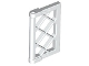 Part No: 60607  Name: Window 1 x 2 x 3 Pane Lattice with Thick Corner Tabs