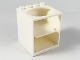 Part No: 6197  Name: Container, Cupboard 4 x 4 x 4 with Elliptical Hole for Sink