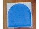 Part No: 6309p0f  Name: Duplo Tile 2 x 2 with Shape Blue Inverse Arch Pattern
