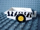 Part No: 6505pb02  Name: Duplo Trailer with Hitch Ends and Safari Stripe Pattern