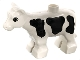 Part No: 6679pb01  Name: Duplo Cow Baby Calf, Black Spots