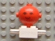 Part No: 685px1c02  Name: Homemaker Figure Torso Assembly and Red Head with Eyes and Smile Pattern