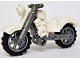 Part No: 85983c03  Name: Motorcycle Vintage with Flat Silver Chassis and Flat Silver Wheels