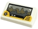 Part No: 85984pb285  Name: Slope 30 1 x 2 x 2/3 with Tatooine Landscape on Screen and Control Knob Pattern (Sticker) - Set 75290