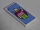 Part No: 87079pb0279  Name: Tile 2 x 4 with Krusty the Clown Poster Pattern (Sticker) - Set 71006
