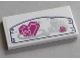 Part No: 87079pb0344  Name: Tile 2 x 4 with Heart, Diamond, Coins and Necklace Pattern (Sticker) - Set 41177