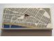Part No: 87079pb0513  Name: Tile 2 x 4 with Map Street Level with Red Pin Pattern (Sticker) - Set 75827