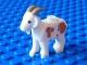 Lot ID: 213890929  Part No: 95341pb01  Name: Goat with Dark Tan Horns and Medium Nougat Spots Pattern