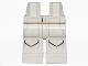 Part No: 970c00pb0374  Name: Hips and Legs with SW Pockets and Gray Lines Pattern (AT-DP Pilot)