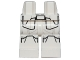 Part No: 970c00pb0463  Name: Hips and Legs with SW First Order Snowtrooper Armor Pattern