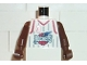 Part No: 973bpb141c01  Name: Torso NBA Houston Rockets #3 Pattern / Brown NBA Arms