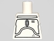 Part No: 973pb0656  Name: Torso SW Mandalorian Armor Plates Pattern (White Boba Fett Concept Design)