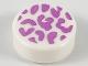 Part No: 98138pb124  Name: Tile, Round 1 x 1 with Medium Lavender Splotches Pattern