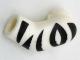 Part No: 981pb125  Name: Arm, Left with Black Zebra Stripes Pattern