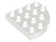 Part No: 98218  Name: Duplo, Plate Round Corner 4 x 4