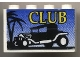 Part No: BA008pb01  Name: Stickered Assembly 4 x 1 x 2 with 'CLUB' Hot Rod Logo Pattern (Sticker) - Set 6561 - 2 Brick 1 x 4