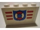 Part No: BA008pb09  Name: Stickered Assembly 4 x 1 x 2 with Coast Guard Pattern (Sticker) - Set 6334 - 2 Brick 1 x 4