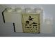 Part No: BA008pb10  Name: Stickered Assembly 5 x 1 x 2 with Eye Chart Pattern (Sticker) - Set 6364 - 2 Brick 1 x 4