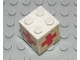 Part No: BA033pb01  Name: Stickered Assembly 2 x 2 x 1 2/3 with Red Cross Pattern on Four Sides (Stickers) - Set 6364 - 1 Brick 2 x 2, 2 Plate 2 x 2