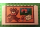 Part No: BA040pb01  Name: Stickered Assembly 10 x 1 x 4 1/3 with Teddy Bear Pattern (Sticker) - Set 5233 - 4 Bricks 1 x 4, 4 Bricks 1 x 6, 1 Plate 1 x 4, 1 Plate 1 x 6