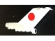 Part No: bb0096pb01  Name: Tail Vintage with Boeing 727 JAL Logo Pattern (Stickers)