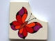 Part No: bb0165pb03  Name: Tile, Modified 2 x 2 without 1 x 1 Quarter Circle with Scala Butterfly Pattern