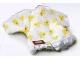 Part No: bb0245pb01  Name: Duplo Doll Cloth Nightdress with Teddy Bear Pattern