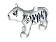 Part No: bb0442pb01  Name: Duplo Tiger Adult Second Version with Immobile Head