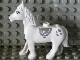 Part No: horse02c01pb01  Name: Duplo Horse with One Stud and Movable Head, Eyes and Hearts Pattern