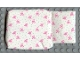 Part No: x24pb02  Name: Scala Cloth Sleeping Bag Baby's, Green Dots and Pink Bows Pattern