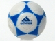 Part No: x45pb01  Name: Sports Soccer Ball with Adidas Blue Pattern